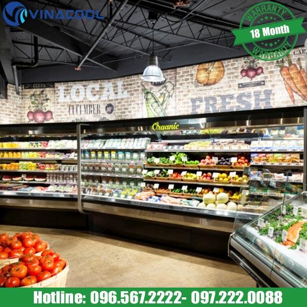 Cách bố trí tủ trưng bày thực phẩm thu hút khách hàng nhất