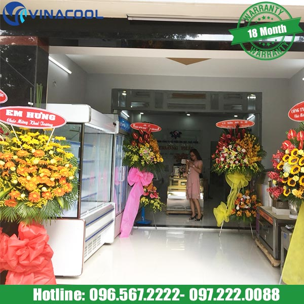đặt tủ trưng bày thực phẩm ở vị trí đẹp