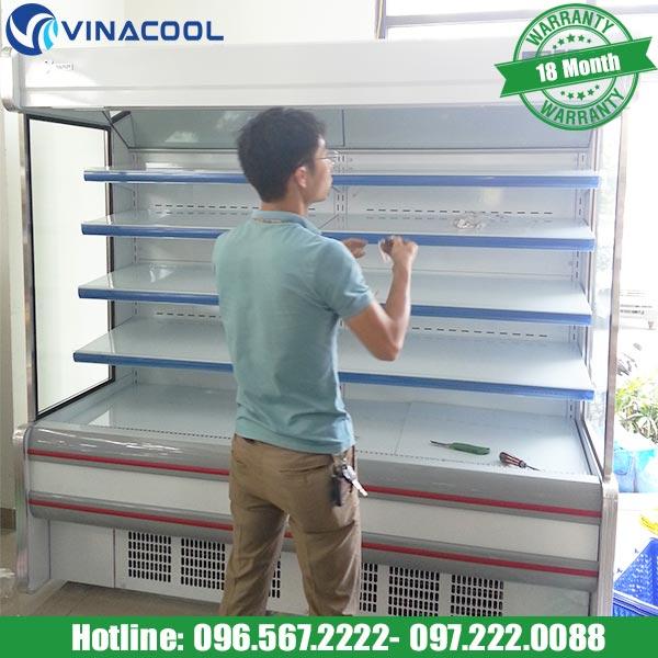 tủ mát siêu thị tại Hà Nội