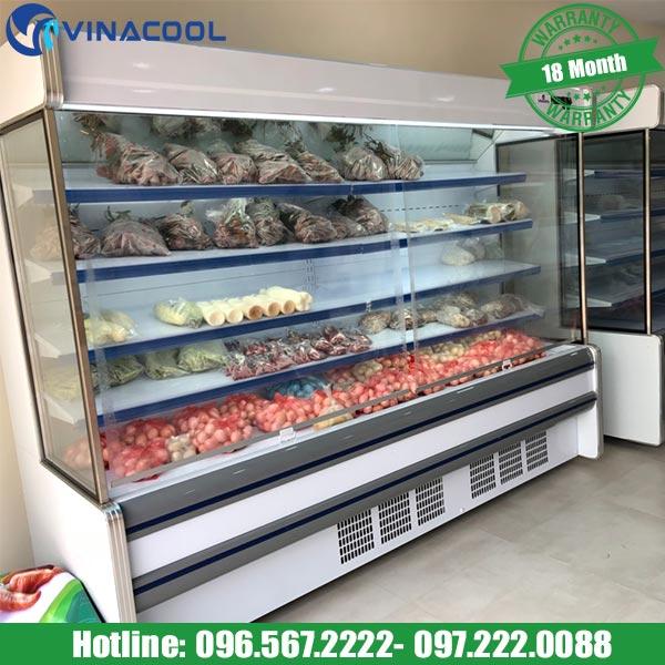 Vinacool nơi bán tủ mát trưng bày rau củ quả giá rẻ