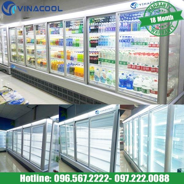 Tủ bảo quản thực phẩm siêu thị SLG-1500FYA