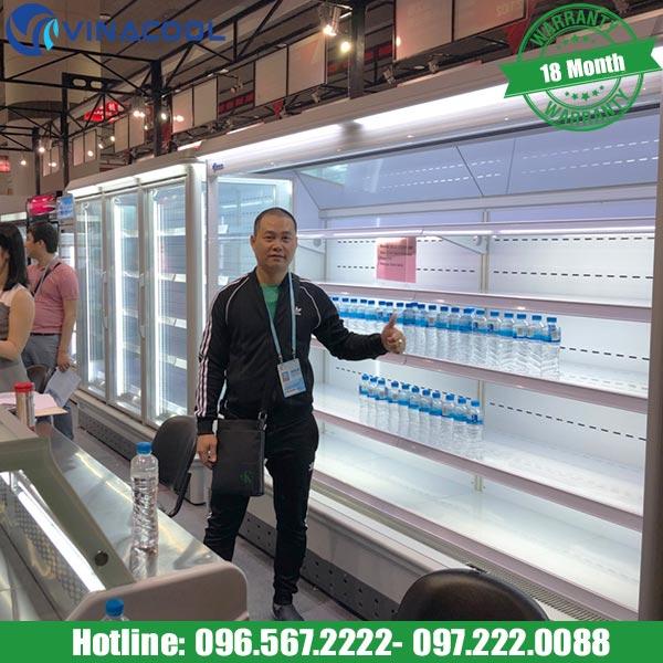tủ lạnh trưng bày siêu thị