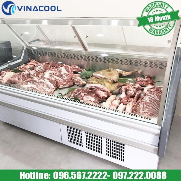 tủ trưng bày thịt tươi sống vinacool