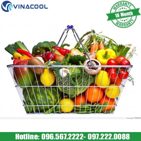 tủ rau Vinacool giúp kiểm soát dễ dàng rau củ