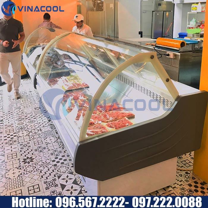 tủ bảo quản thịt nhà hàng