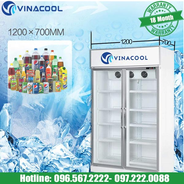 Tủ trưng bày nước ngọt SLG-1200FS hàng chính hãng