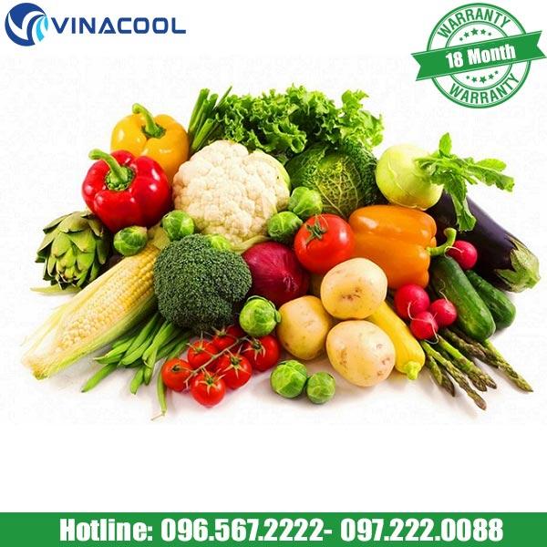 tủ bảo quản rau quả tươi giúp giữ nguyên được dưỡng chất