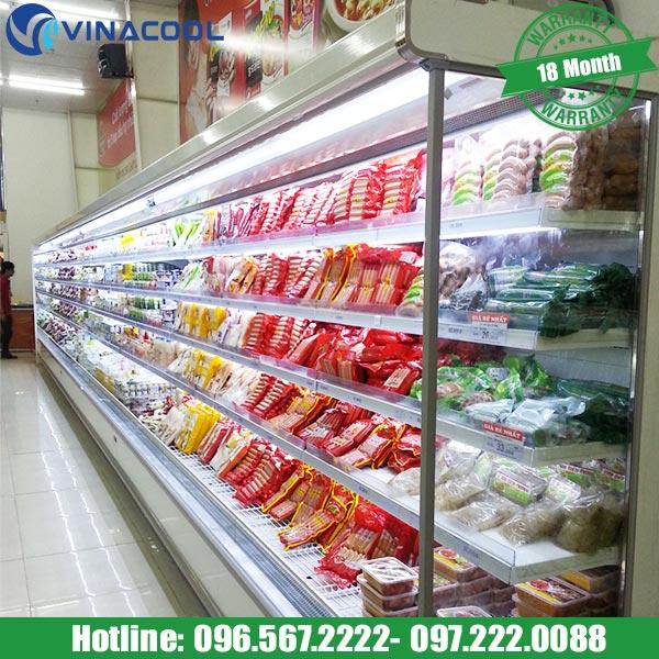 Mua tủ mát bảo quản thực phẩm không kính nên chọn loại nào?