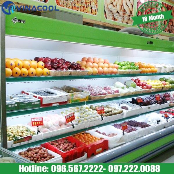 nên sử dụng tủ bảo quản hoa quả loại nào