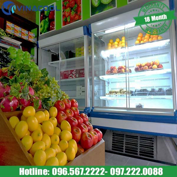 tủ bảo quản hoa quả sạch
