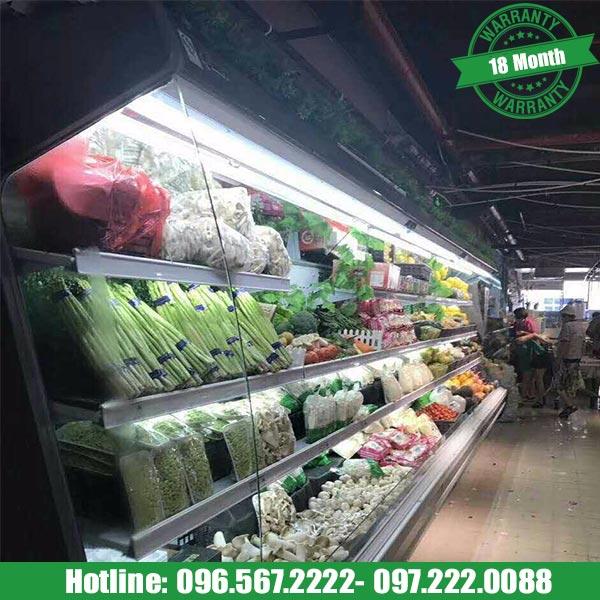 tủ bảo quản rau củ quả siêu thị