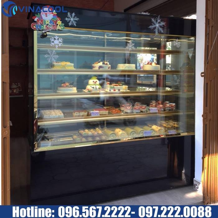 tủ mát trưng bày bánh ngọt 5 tầng