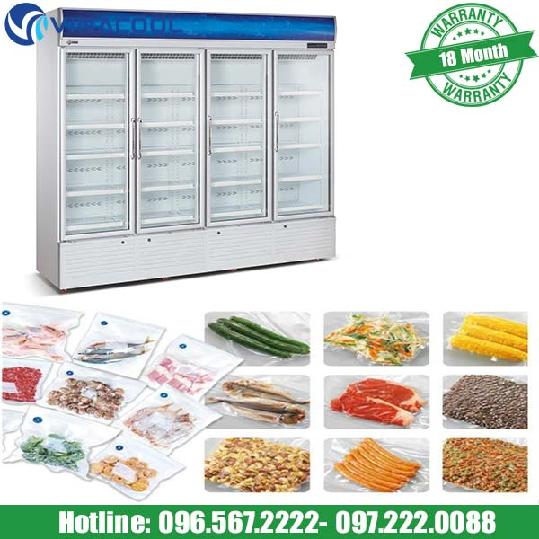 Tủ mát đựng thực phẩm SLG-2400FS