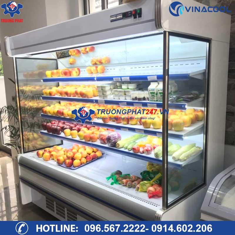 tủ trưng bày trái cây nhập khẩu 2m