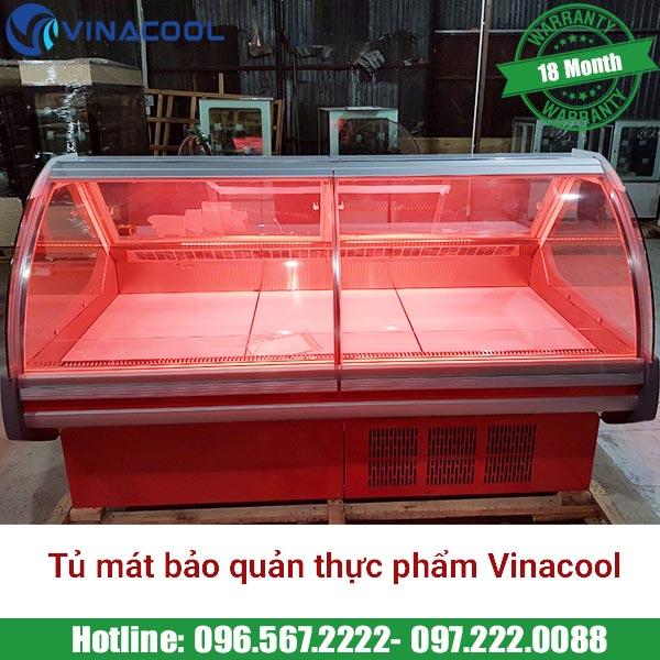 tủ mát bảo quản thực phẩm Vinacool