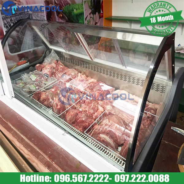 giá tủ mát thịt Vinacool