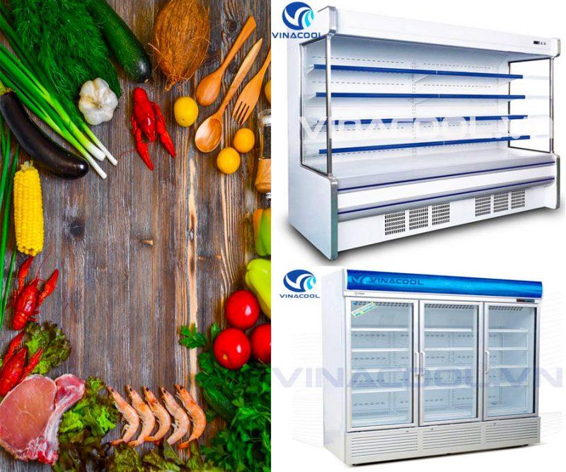bảo quản thực phẩm trong tủ mát