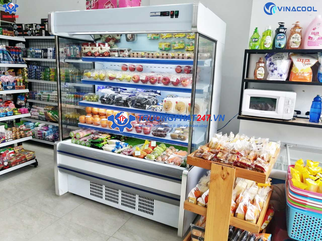 tủ siêu thị SLG-1500F