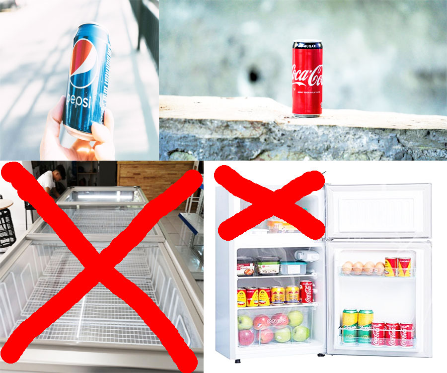 Cảnh báo: Nhập viện cấp cứu chỉ vì để lon Pepsi trong tủ đông đá