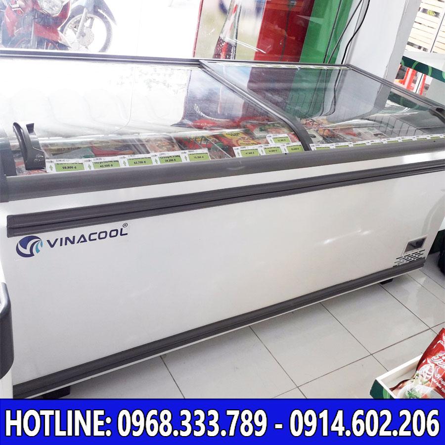 Lắp đặt thực tế tủ đông Vinacool