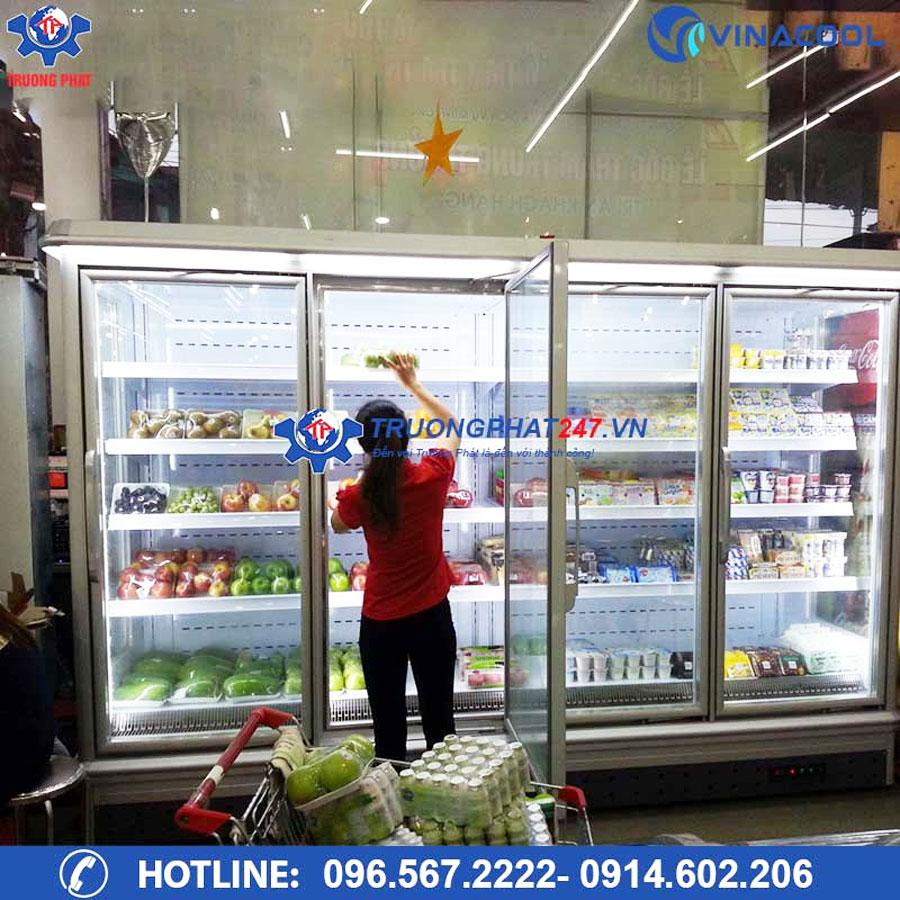 sắp xếp và trưng bày thực phẩm khoa học