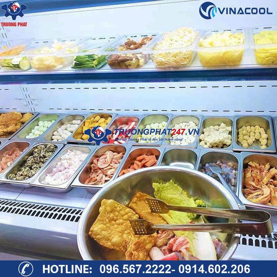 tủ trưng bày thực phẩm nhà hàng