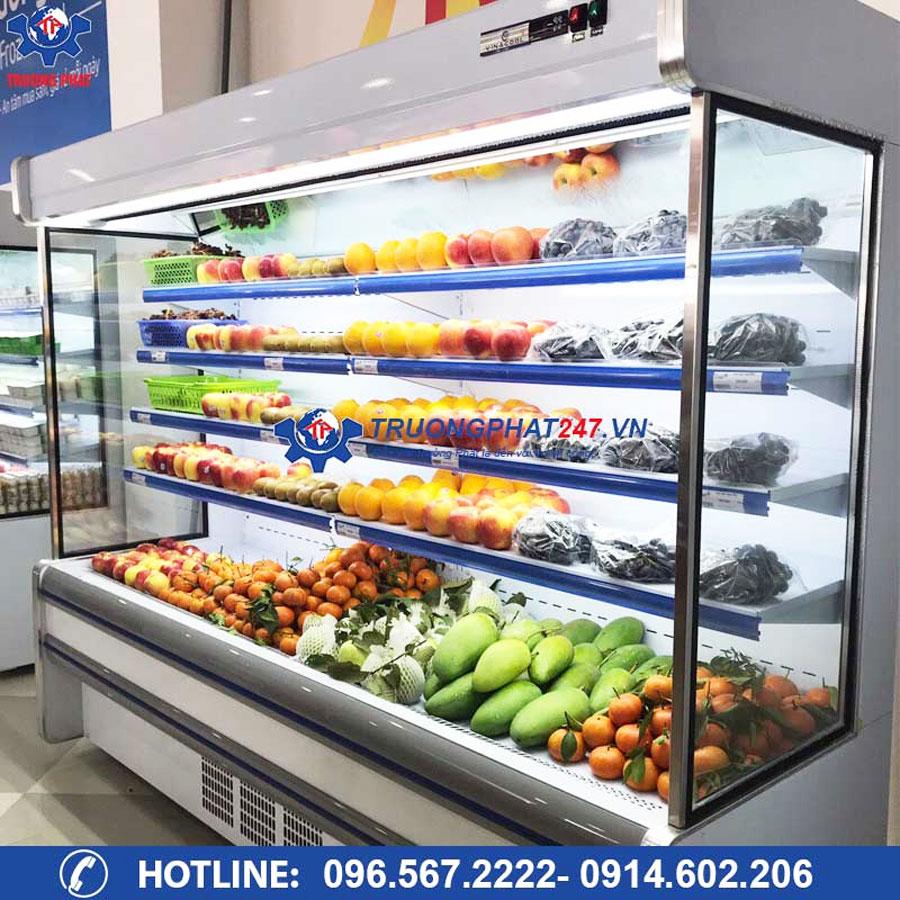 tủ mát trưng bày trái cây