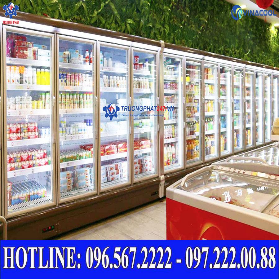 tủ trưng bày siêu thị Vinacool
