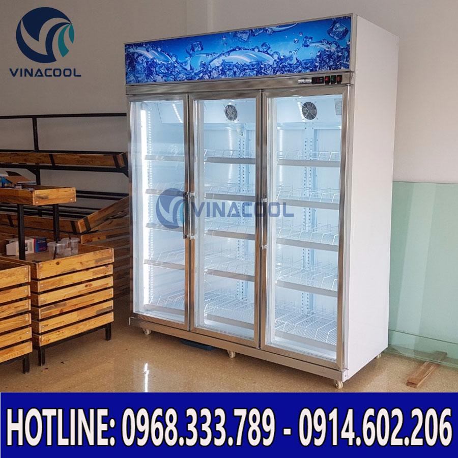 Tủ mát 3 cánh kính Vinacool