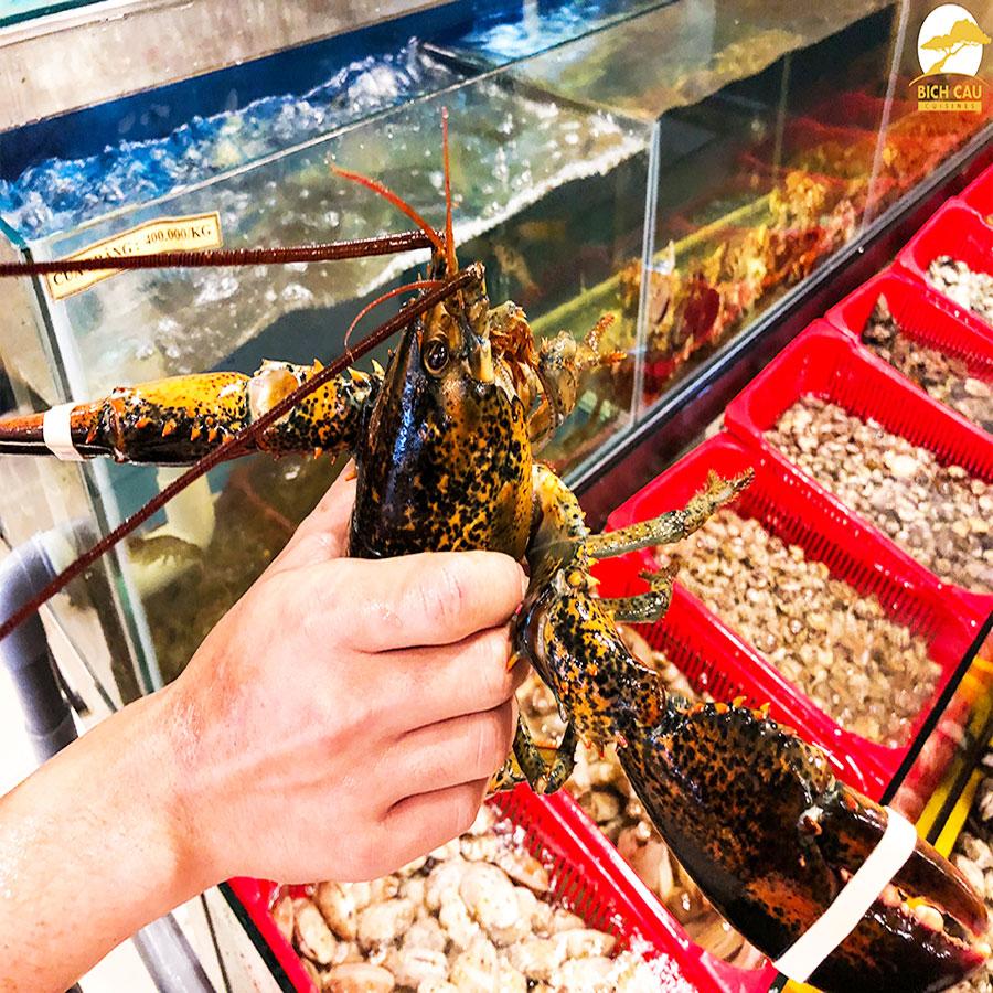 Kinh doanh hải sản tươi sống