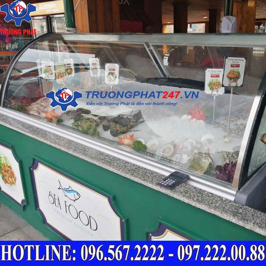 Tủ mát trưng bày hải sản tươi Vinacool