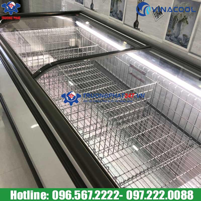 tủ đông siêu thị cao cấp Vinacool