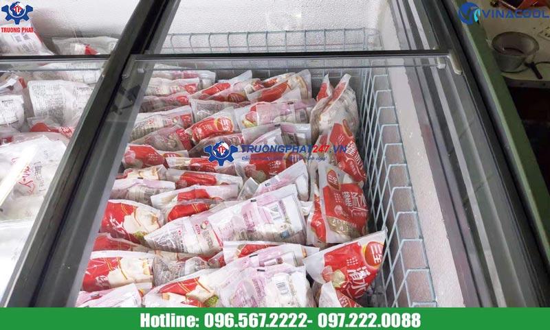 tủ đông bảo quản trưng bày thực phẩm