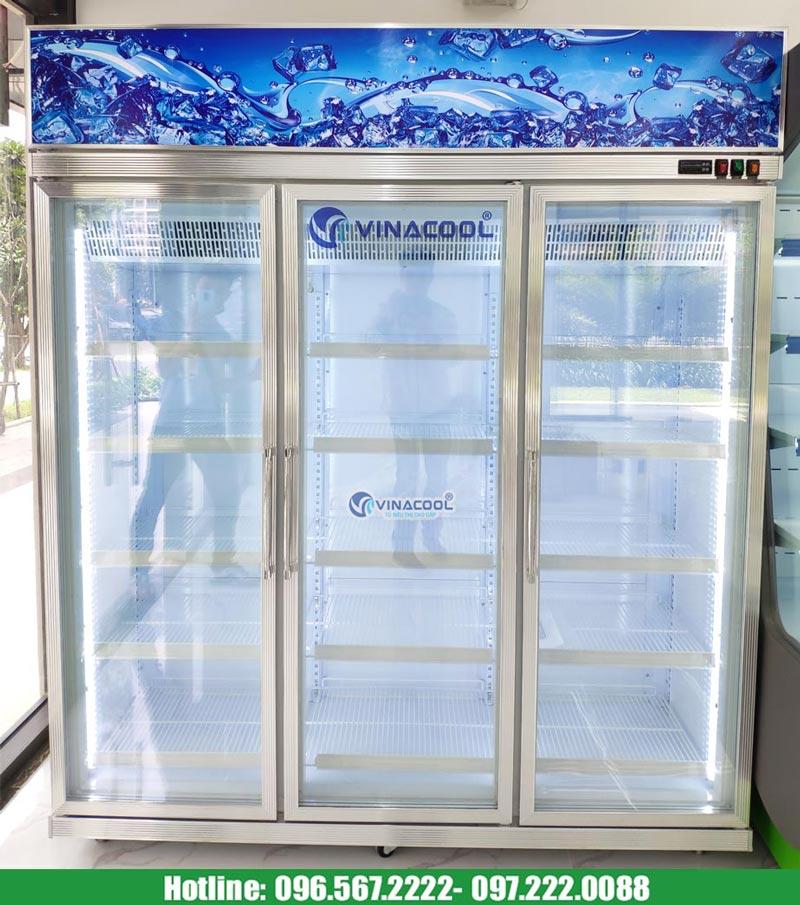 tủ đông lạnh 3 cánh kính