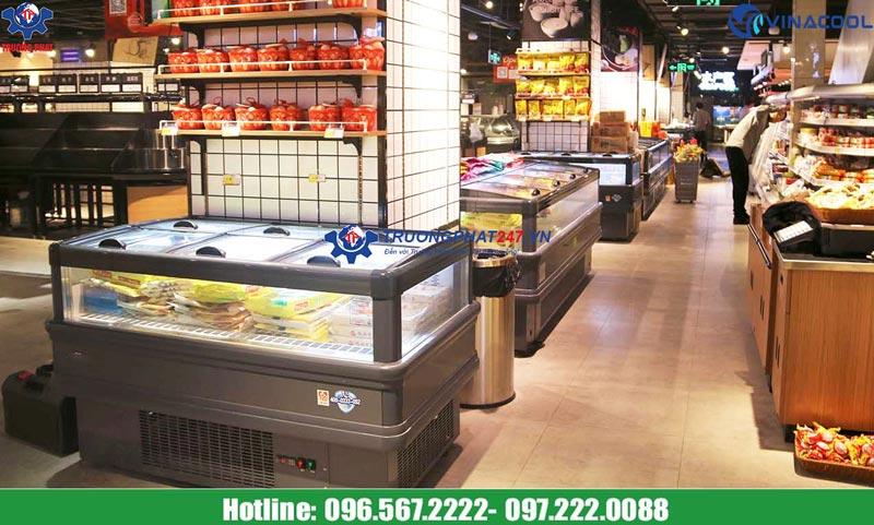 tủ đông siêu thị WD-2000ZD