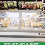 tủ đông trưng bày hải sản HR-1500