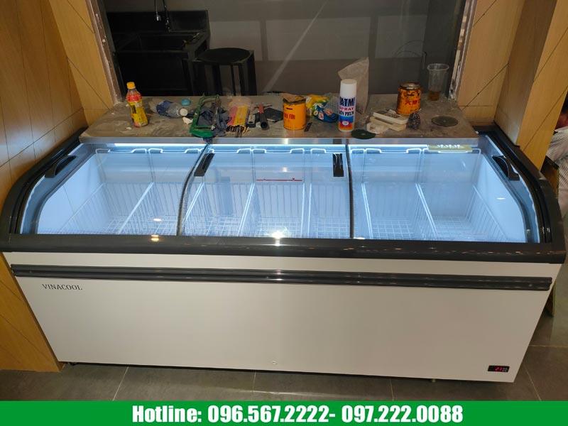 tủ đông WD4-738 mini cho siêu thị